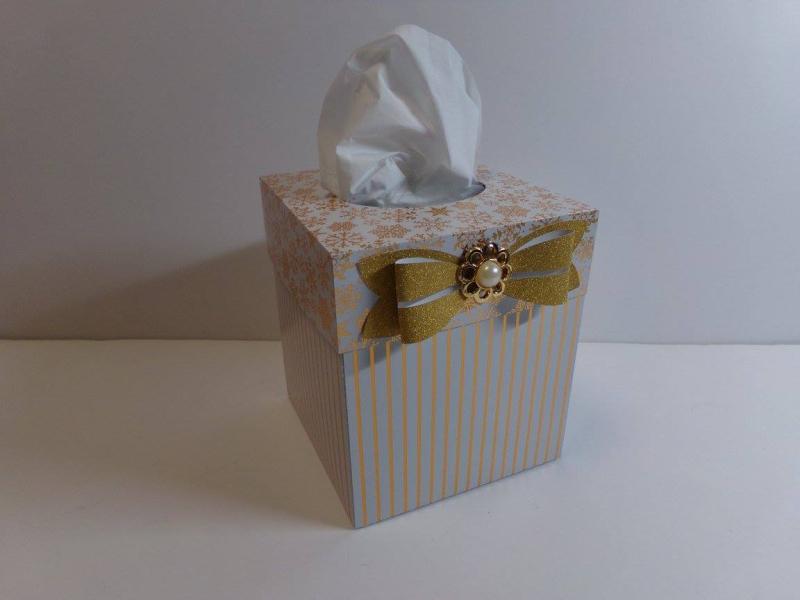 Audrey - Tissue box holder