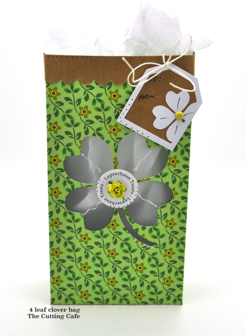 4 leaf clover bag