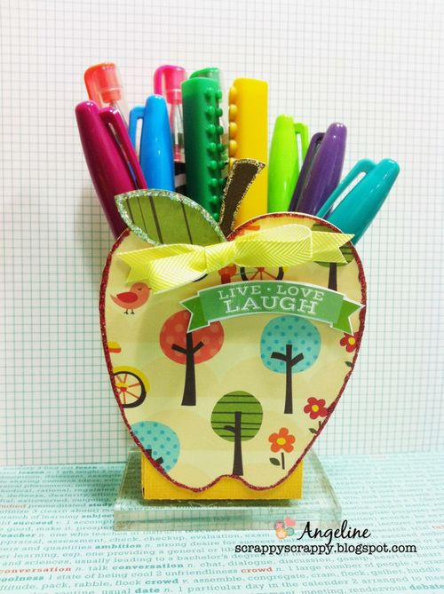 APPLE TREAT BOX - Angeline Choo