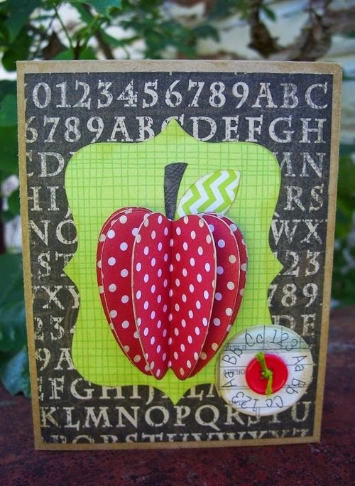 APPLE TREAT BOX - Debbie Fisher