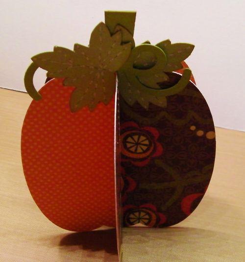 3D PUMPKIN SET - Rhonda Zmikly