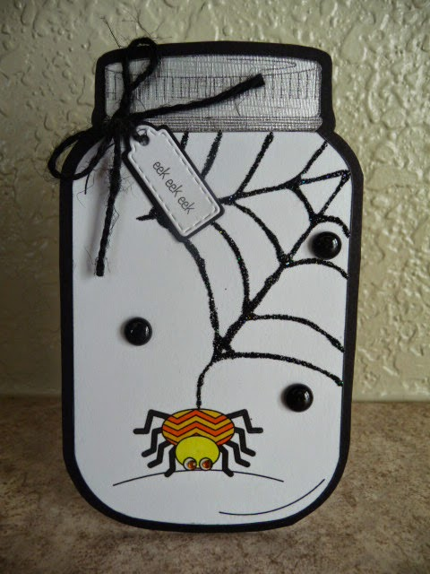 Halloween and fall in a jar - Jeri Thomas