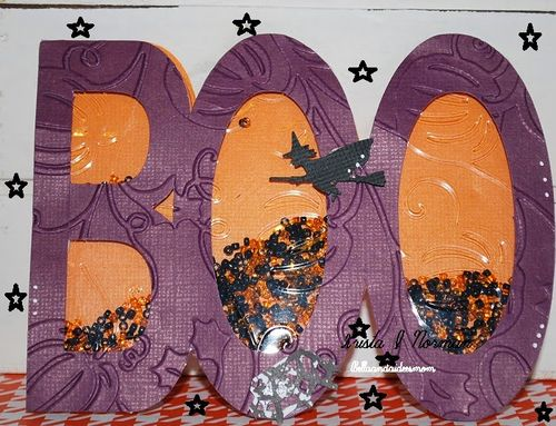 Halloween and Fall Shaker cards -Krista Norman
