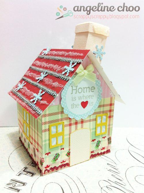 3d house set - Angeline Choo