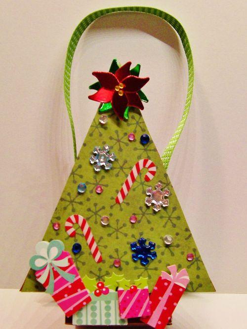 Christmas tree treat box