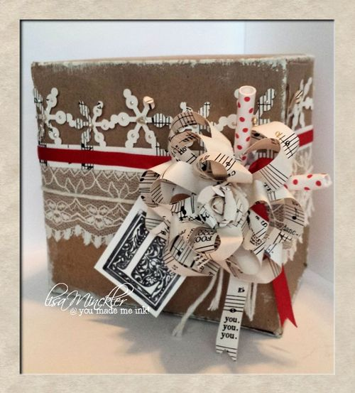 Lisa Minckler - Gift Bow template