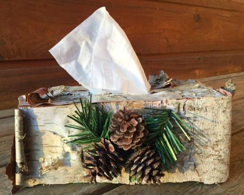 Tissue box cover - Tina Goodwin