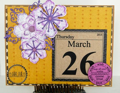 2015 CALENDAR SET and BIRTHDAY TAGS - julie odil