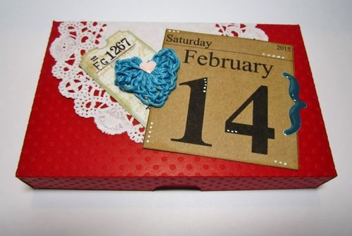 2015 DAY CALENDAR SET and Pizza Box - Debbie fisher