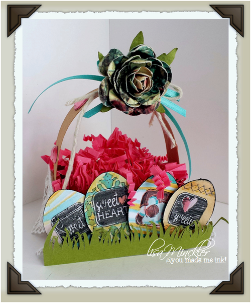 Easter basket - Lisa Minckler