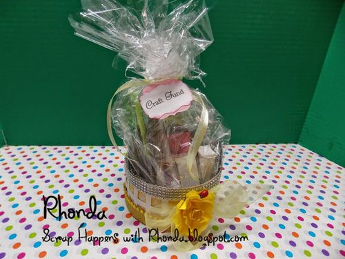Round Easter Basket - Rhonda Emery