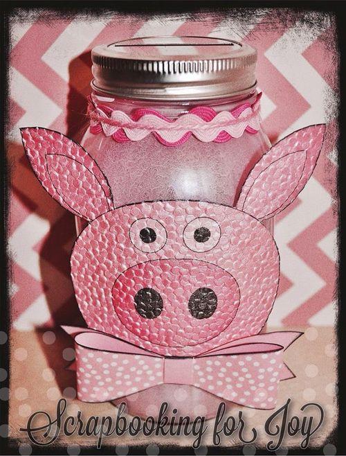 Pig treat cup - Mona Curo
