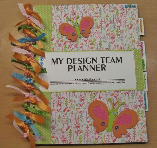 Design team planner - Rhonda Zmikly