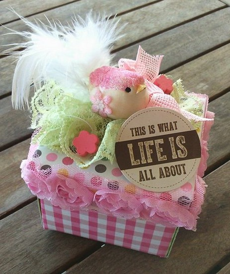 Cupcake box -Christina Panetsou