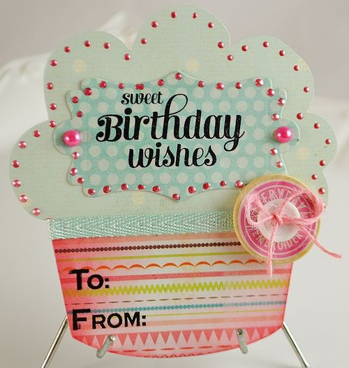 Huge cupcake - Lisa Snowdy