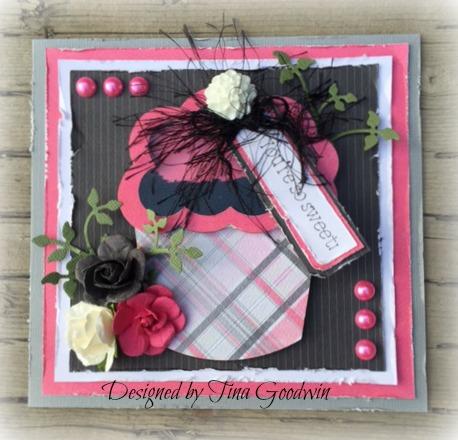 Tina Goodwin - cupcake shaker card