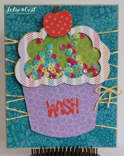Cupcake shaker - julie odil