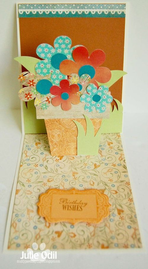 Assorted pop up card - Julie Odil