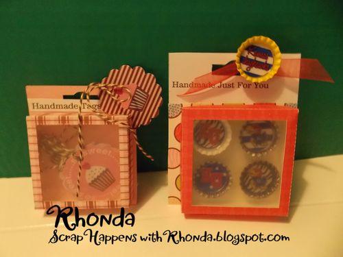 Rhonda emery - handmade embellishment box