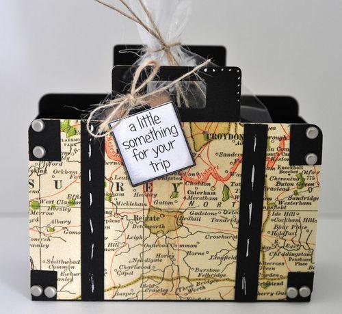 Suitcase treat box