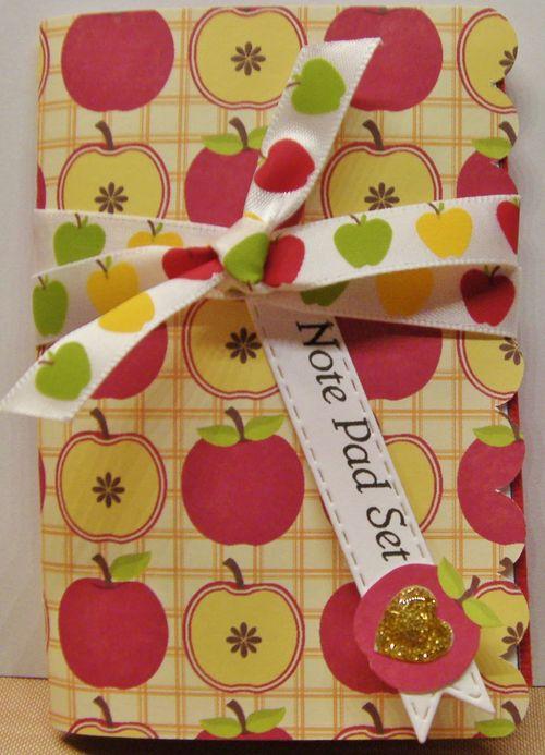 Mini note pad and card set - Rhonda Kmikly