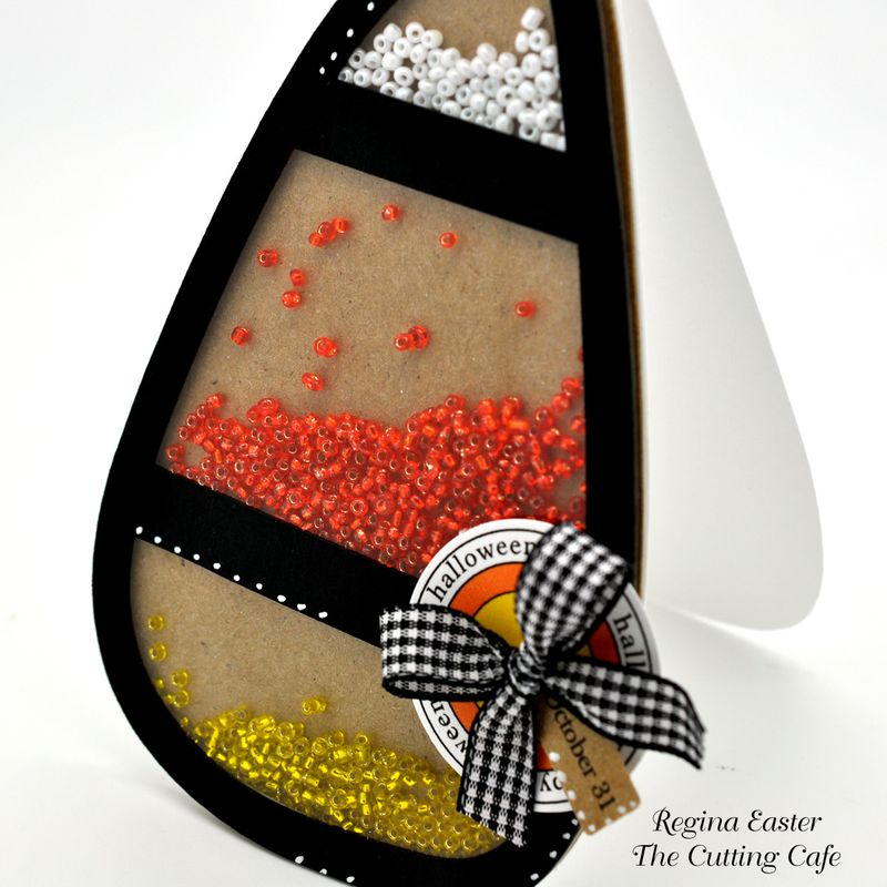 Candy corn shaker 1
