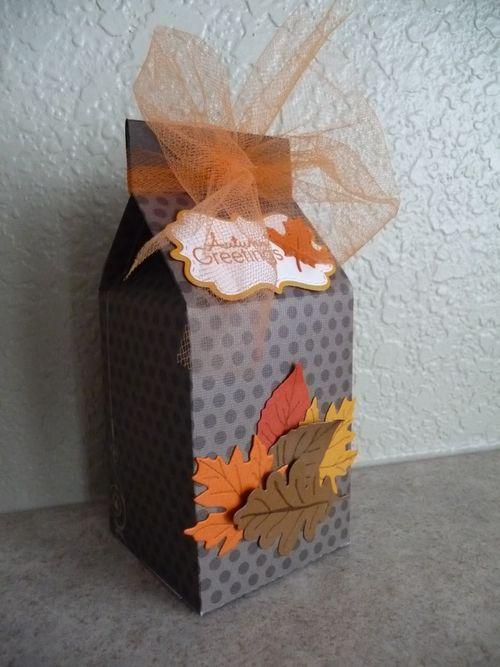 Halloween and fall milk cartons and assorted milk cartons - Jeri Thomas