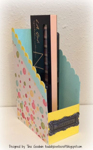 Tina goodwin - file folder box holder set