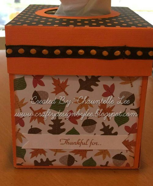 Welcome fall and tissue box set - chauntelle lee