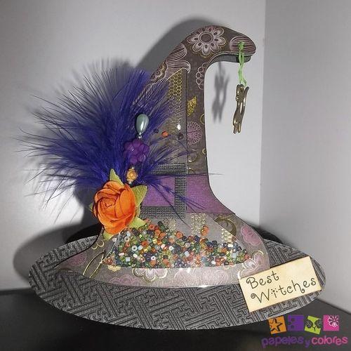 Witch shaker card - Doris Molina