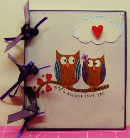 Fun with owls - rhonda zmikly