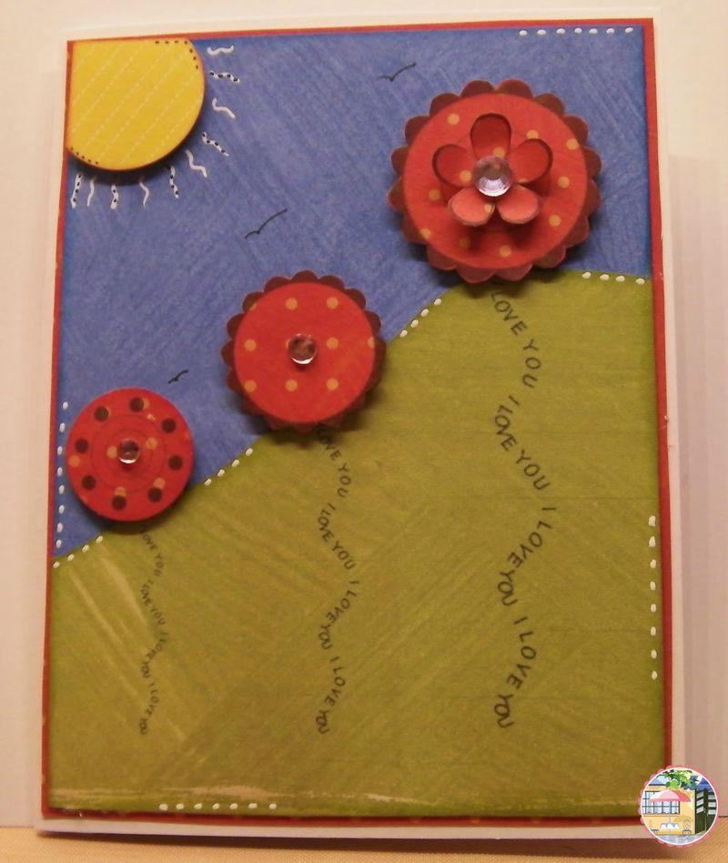 Rhonda zmikly - Sentiment stems and flower tops