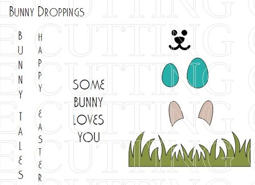 The Cutting Cafe  Easter Treat Cup Cards  Templates And Cutting