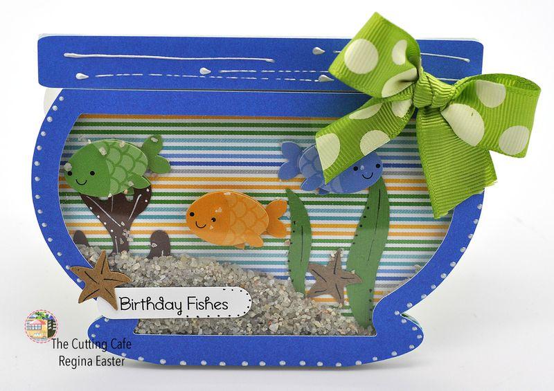 Fishbowl shaker