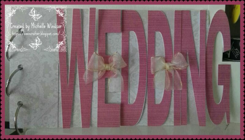 Wedding word book - michelle windsor