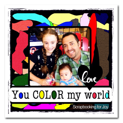 YOU COLOR MY WORLD - Angeline Choo