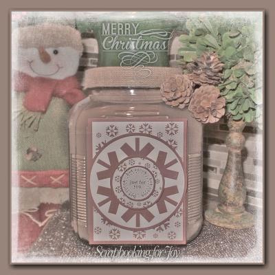 Christmas bulb greetings - Lisa bzibziak