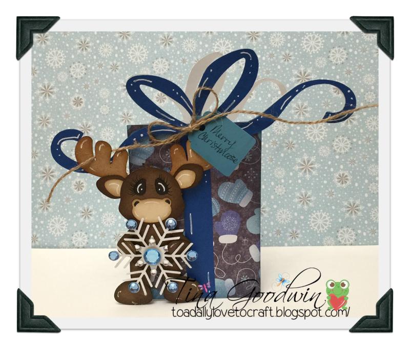 Shaped christmas cards - tina goodwin