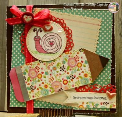Pencil shaped card - lisa bzibziak