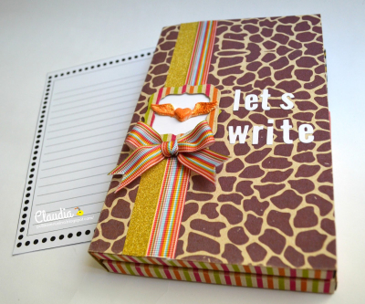 The Cuttig Cafe - Let's Write a Letter - Printable Stamp Set 03
