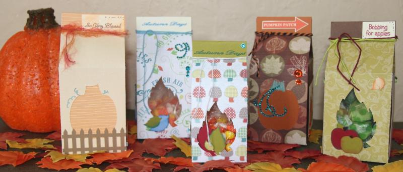 Halloween and fall milk cartons - krista hong