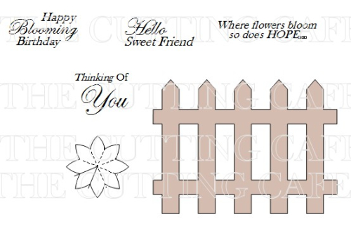 The Cutting Cafe FLOWER POP UP CARD TEMPLATE AND CUTTING FILE – Birthday Popup Card Template