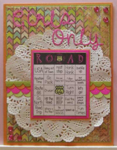 Rhonda - its road trip time again