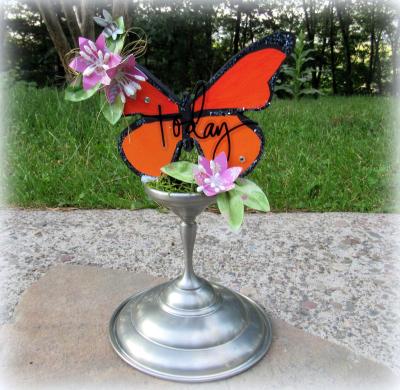 Maria pilar - flower pop up card 1