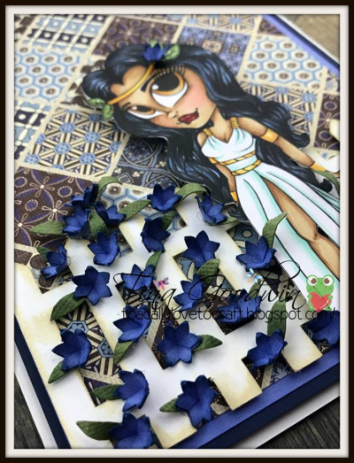 Robyn weatherspoon - flower pop up card 1