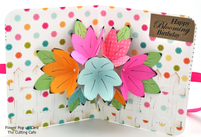 Robyn weatherspoon - flower pop up card 1