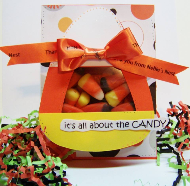 Halloween and fall treat cup cards - diane hover