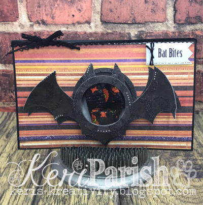 Halloween and fall treat cup cards - lisa bzibziak