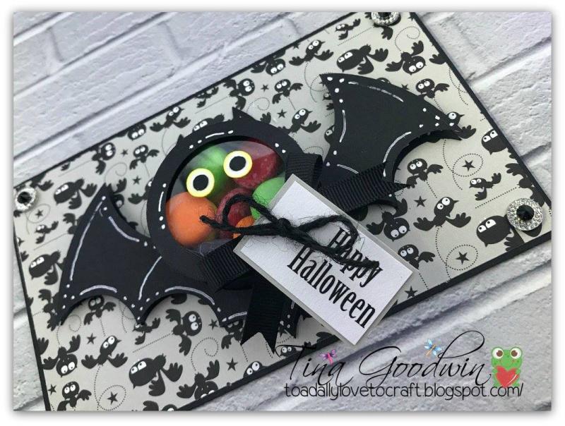 Halloween and fall treat cup cards - tina goodwin