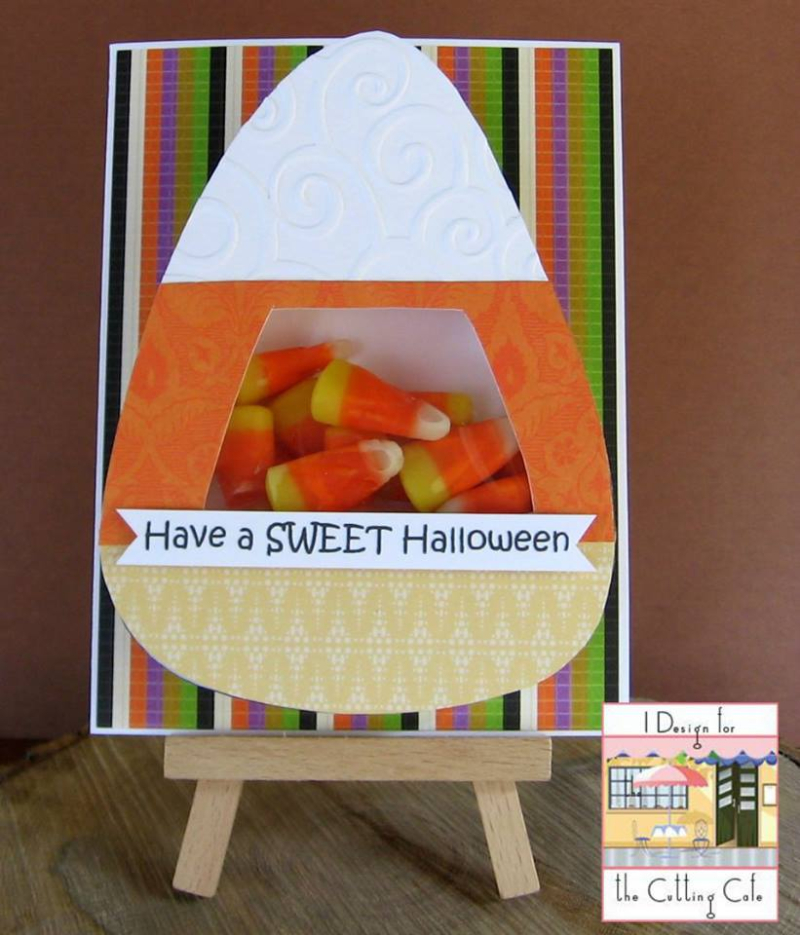 Halloween and fall treat cup cards - patti gilliam